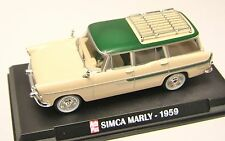 COLLECTION HACHETTE AUTO PLUS  IXO 1/43 SIMCA VEDETTE MARLY 1959 /6