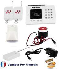 Kit Système d'alarme de maison sans fil 99 zones* auto appel téléphonique Kit-1