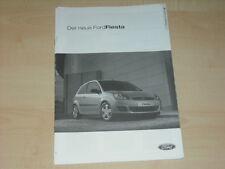 39964) Ford Fiesta Preise & Extras Prospekt 11/2005