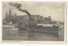 Krakau, Weichsel, Dampffähre, Schiff, Fähre, Dampfer, Ak vo 1944, Poland, Kraków