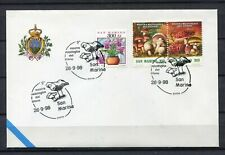 S16194) San Marino 1998 Cover 9 ^ Show Mycological Del Titan Mushrooms