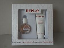 REPLAY for her Geschenk 2x Set 20 ml eau de toilette&100 ml perfumed body lotion