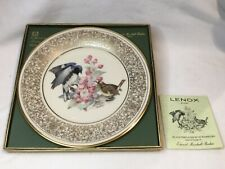 1980 Lenox Black-Throated Blue Warblers Annual Limited Edition Boehm Birds Plate