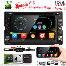2017 New Android 6.0 HD WiFi 2din Car Head Unit Stereo Radio DVD Player GPS Navi