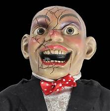 Funny Comedian CREEPY CHARLIE DOLL Haunted House Dummy Horror Movie Prop-SPEAKS