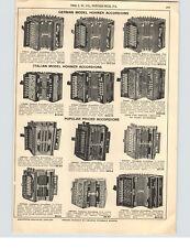 1928 PAPER AD German Italian Hohner Accordions Adolphus Soprano Chromonica