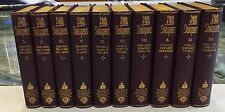 "MAGNIFICENT 1900 10 VOLUME MINIATURE WILLIAM SHAKESPEARE BOOKS ""MUST SEE"""