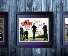 The Red Jumpsuit Apparatus SIGNED AUTOGRAPHED FRAMED 10X8 REPRO PHOTO PRINT