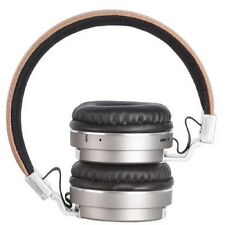 Casque écouteurs wifi metal sport-beat BT008 wireless Gris/Beige NEUF