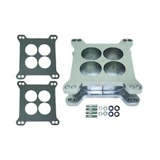 "2"" Aluminum 4-Hole 4BBL Carburetor Spacer Kit Holley Edelbrock & BG Square Bore"