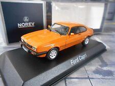 FORD Capri MK3 3 III Coupe S 3.0 1986 orange Norev NEU 1:43