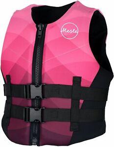 MESLE Neopren-Weste Damen, Prallschutz Impact Schwimmweste Wakeboard Neo-Vest