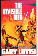 THE INVISIBLE MEN by Gary Lovisi new US pulp sci-fi Jon Kirk of Ares #2 trade pb