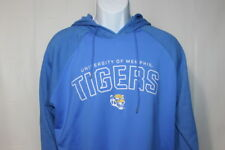 Memphis Tigers Long Sleeve Blue Hoodie Mens L ***NWT***