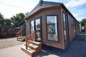 2022 Sunrise Lodge Abstract   40x13 Annexe   2 bed Mobile Lodge   Garden Home