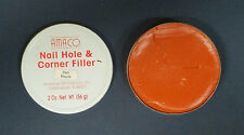 AMACO Wood Picture Frame Nail Hole and Corner Filler 2 OZ. Red Maple