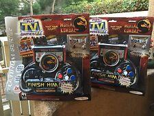 2004 Mortal Kombat Plug & Play TV Games controller Midway Platinum Series 2 MIB
