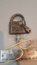 VINTAGE EAGLE LOCK PADLOCK WITH KEY 9V11