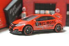 Hot Wheels '16 Honda Civic Type R Loose - 1:64 - Red - Bisimoto