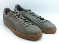 Puma Mens Suede Classic Natural Warmth Low Top Lace Up Fashion, Grey, Size 12.0