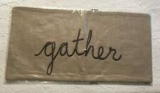Pottery Barn Thanksgiving GATHER LUMBAR PILLOW COVER, NWT