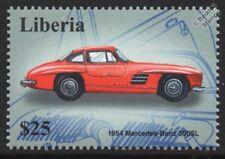 1954 MERCEDES-BENZ 300SL Gull-Wing Classic Sports Car Stamp