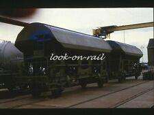 N1223 - Dia slide 35mm original Eisenbahn Holland, NS Selbstentladewagen, '90s