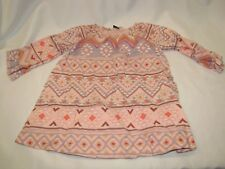 Baby Gap Desert Rose Aztec Dress Tunic Size 18-24 months Tribal Boho Chic