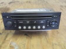 CITROEN PEUGEOT  CD RADIO HEAD UNIT CD PLAYER BLAUPUNKT 96 606 468B77