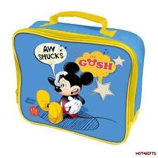 Disney Mickie Mouse Insulated Lunch/Dinner School Bag/Box Cool Hot Drink & Food