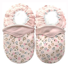 Littleoneshoes Soft Sole Leather Baby Infant Kids DandelionPink Shoes 12-18M