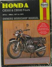 Haynes Manual De Taller Para Honda CB350F & CB500F, 1971 a 1975