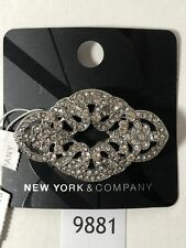 New York and Co Rhinestone Brooch/ Pin
