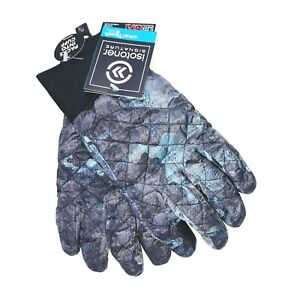Isotoner Polartec Insulated Quilted Winter Gloves Mens S/M Blue/Green/Brown/Red