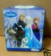 Frozen Anna, Elsa, Olaf, Cool Touch Kleenex Box of 50 Tissues Collectible