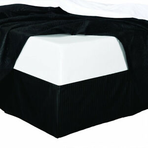 Chic Striped 100% Microfiber Bed Skirt