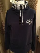 Brand New With Tag Ladies Quba Navy Blue Jumper Size 10