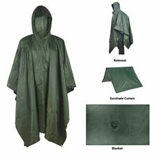 Military Waterproof Raincoat Multifunction Outdoor Survival Poncho Camping Tent