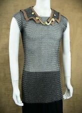 Medieval Butted Chain Mail/Lorica Hamata Reenactment Chainmail LARP XL Size