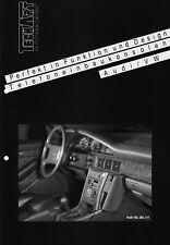 AUDI 80 90 B4 VW Golf Jetta II 2 TECHART Telefon Konsolen Zubehör Prospekt 8