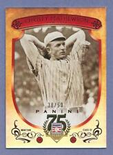 CHRISTY MATHEWSON 2014 Panini Hall Of Fame Red Frame Red #3 Giants #d 38/50