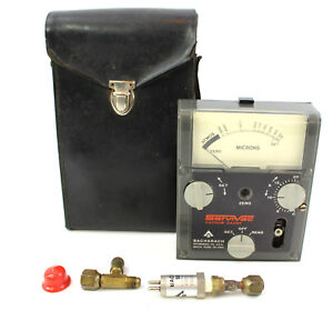 Bacharach Serivac Vacuum Gauge 20-7003 Atmos Microns Sensor