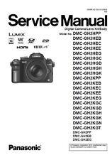 Panasonic Lumix DMC-GH2 GH2H GH2K Service Manual & Repair Guide