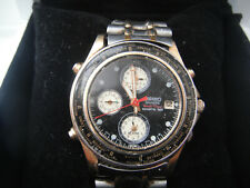 RARE SEIKO MENS CHRONOGRAPH WRIST WATCH  WORLD TIMER SPORTS 150
