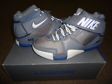 check out faf9d a7f7d 2005 Nike ZOOM LEBRON II 2 COOL GREY WHITE ROYAL BLUE RED ALL-STAR 309378