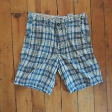 Abercrombie Fitch Hombre 30 Cuadros Shorts Casual