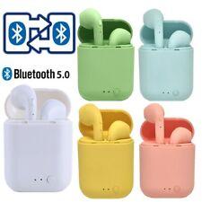 New listing Mini Tws Wireless Earphones Bluetooth 5.0 Earphone Matte Earbuds Headset