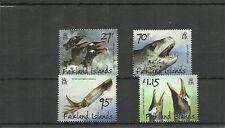 FALKLANDS ISLANDS -2011 PENGUINS PREDATORS & PREY SET -MNH