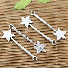 20pcs Tibetan silver plated star magic stick charms EF2025