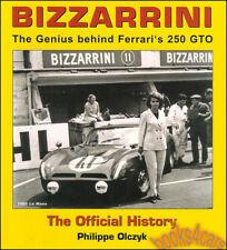 BIZZARRINI BOOK FERRARI GTO GENIUS BIZARINI BIZARINNI GT STRADA 5300 GIOTTO 250